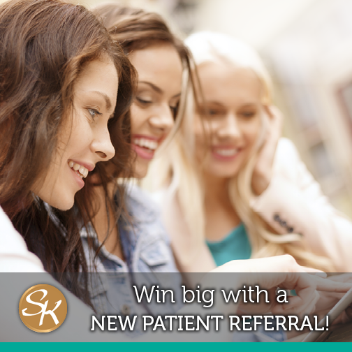 Win a new FitBit band by referring friends to your dentist in Mclean, VA!