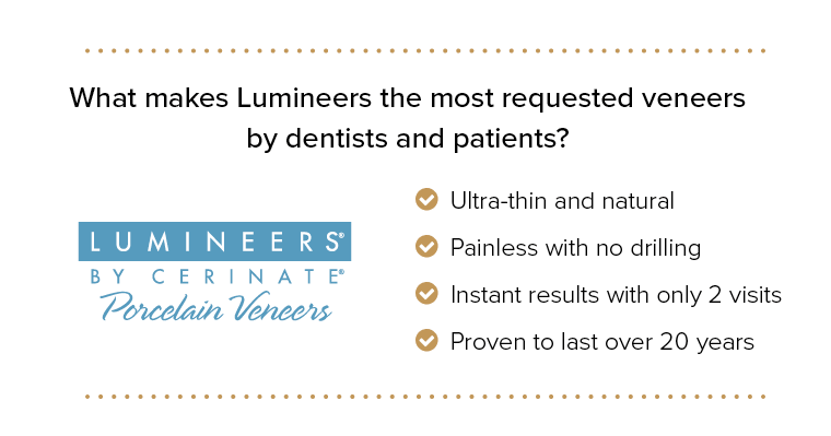 Reasons why people choose Lumineers dental veneers