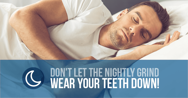 Man sleeping peacefully for getting a nightguard to protect his teeth from nighttime grinding.