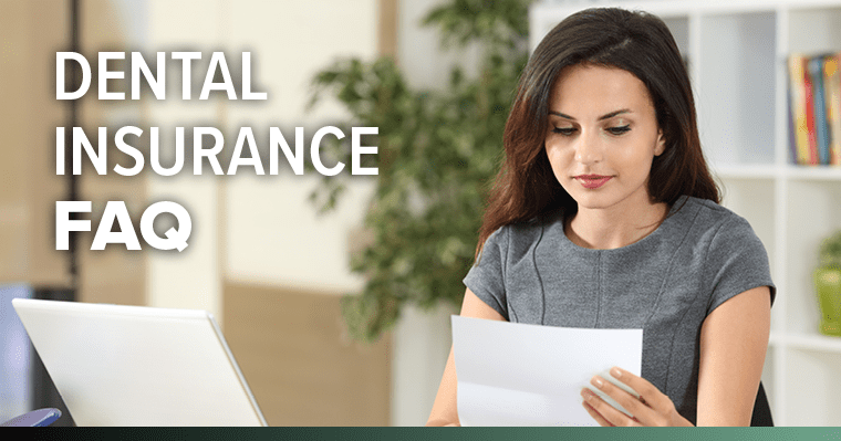 Women looking at a dental insurance claim form