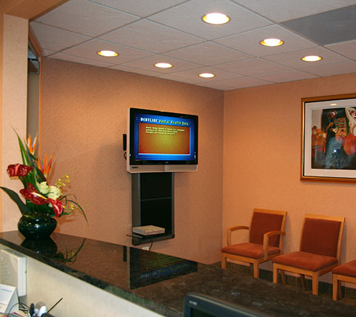 McLean Dentists Office Tour Reception Waiting Room