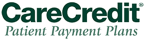 Logo for CareCredit a patient financing option